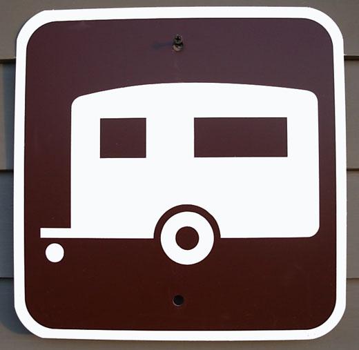 RV Park Campground Sign