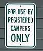 RV Park & Campground sign